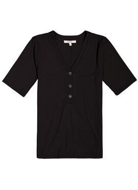 T-shirt knoopjes vooraan