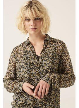 Golden sun blouse