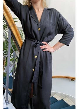 Alba shirt dress
