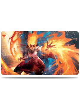 Alternative Art Playmat: Chandra