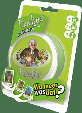 Timeline: Uitvindingen