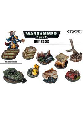Warhammer 40K: Hero Bases