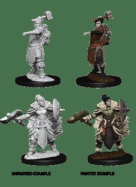 Nolzur's Miniatures: Female Half-Orc Barbarian