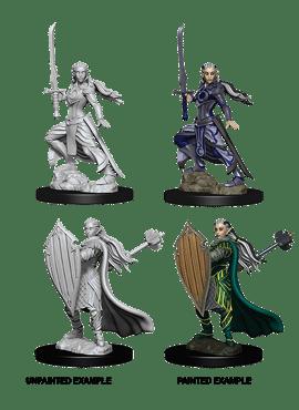Nolzur's Miniatures: Female Elf Paladin
