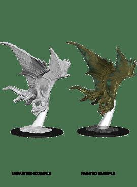 Nolzur's Miniatures: Young Bronze Dragon
