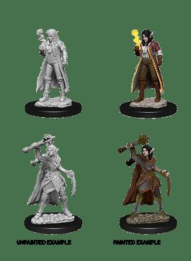 Nolzur's Miniatures: Female Elf Cleric