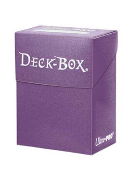 Deckbox: Solid Purple