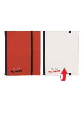Pro Binder Small: Red & White