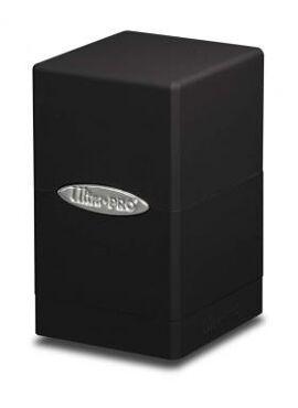 Satin Deckbox: Black