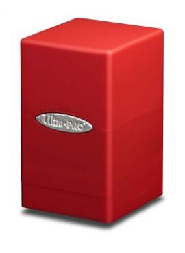 Satin Deckbox: Red