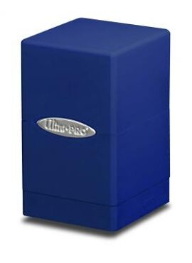 Satin Deckbox: Blue