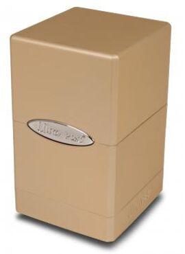 Satin Deckbox: Caramel
