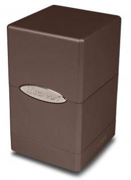 Satin Deckbox: Chocolate
