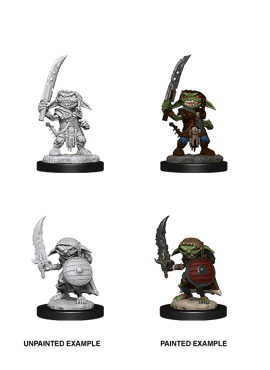 Deep Cuts: Male Goblin Fighter