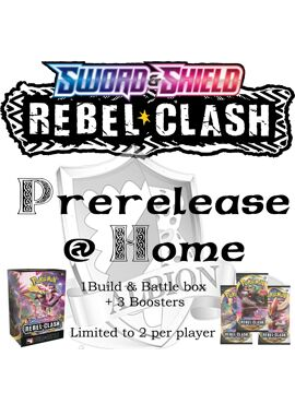 Rebel Clash Prerelease at Home