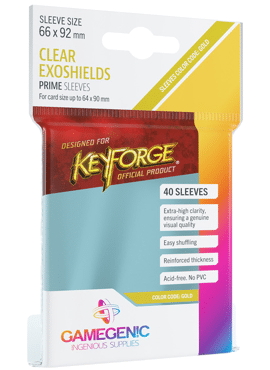 GameGenic KeyForge Exoshield Sleeves