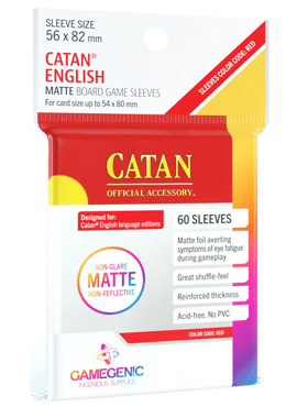 GameGenic Matte Catan Sleeves