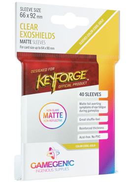 GameGenic Matte KeyForge Exoshield Sleeves