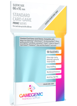 GameGenic Standard Card Game Sleeves