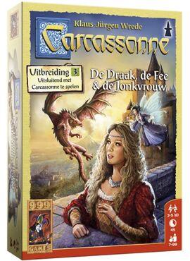 Carcassonne: Draak, Fee & Jonkvrouw