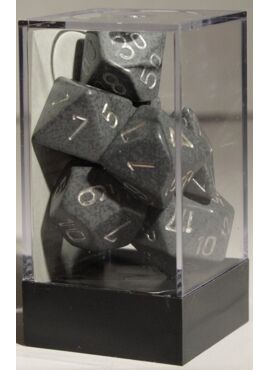 Speckled Poly Dice: Hi-Tech