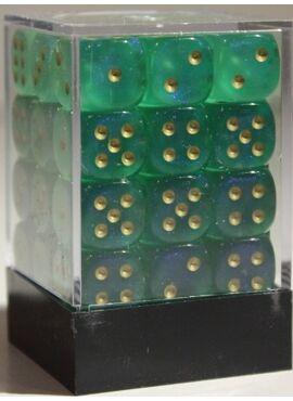 Borealis D6 Dice Block: Light Green