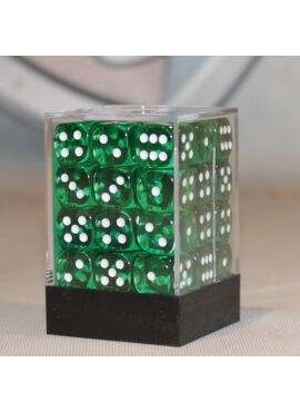 Translucent Brick D6: Green