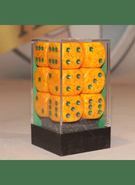 Speckled D6 Large Dice Block: Lotus
