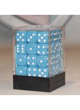 Opaque D6 Dice Block: Light Blue