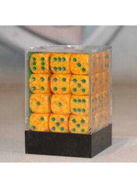 Speckled D6 Dice Block: Lotus