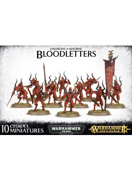 Deamons of Khorne Bloodletters