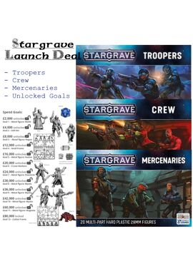 Stargrave Launch Deal: Boxed Sets