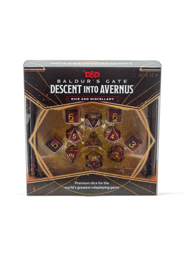 Descent into Avernus Dice Set