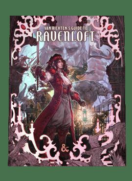 Van Richten's Guide to Ravenloft (Alt. Cover)