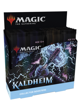 Kaldheim Collector Booster Display