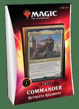 Commander 2020: Ruthless Regiment