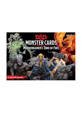 Monster Cards: Mordekainen's Tome of Foes