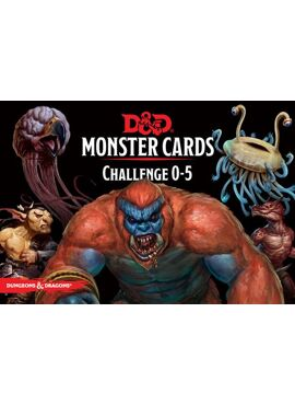 Monster Cards: 0 - 5