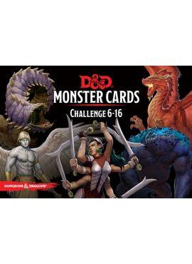 Monster Cards: 6 - 16