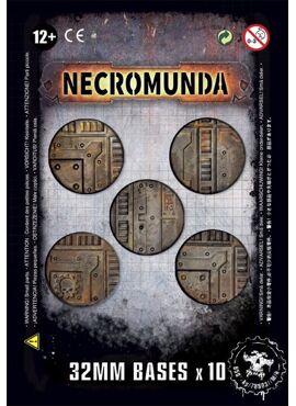 Necromunda 32 mm Bases