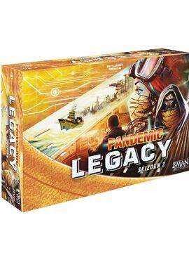 Pandemic Legacy Seizoen 2: Geel