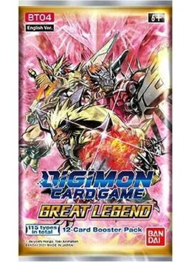 Digimon Great Legends Booster