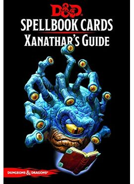 Spellbook Cards: Xanathar's Guide to Everything