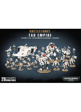 Tau Empire Targeted Recon Cadre