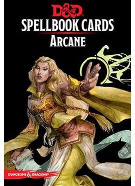 Spellbook Cards: Arcane