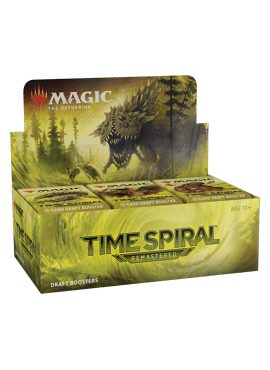 Time Spiral Remastered Booster Display