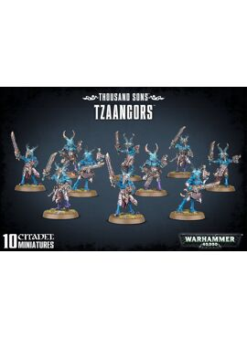Thousand Sons Tzaangors