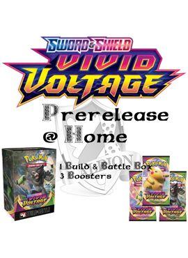 Vivid Voltage Prerelease at Home