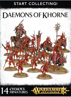 Start Collecting! Deamons of Khorne