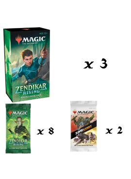 Zendikar Rising Prerelease at Home Tri-Pack